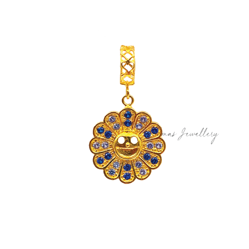 Happy Bloom Blue Charm
