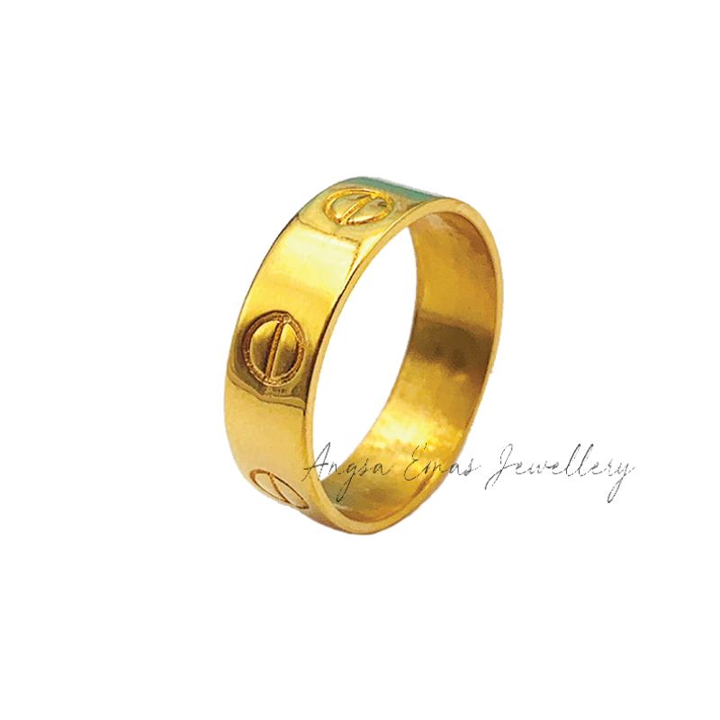 Clove Gold Color Ring