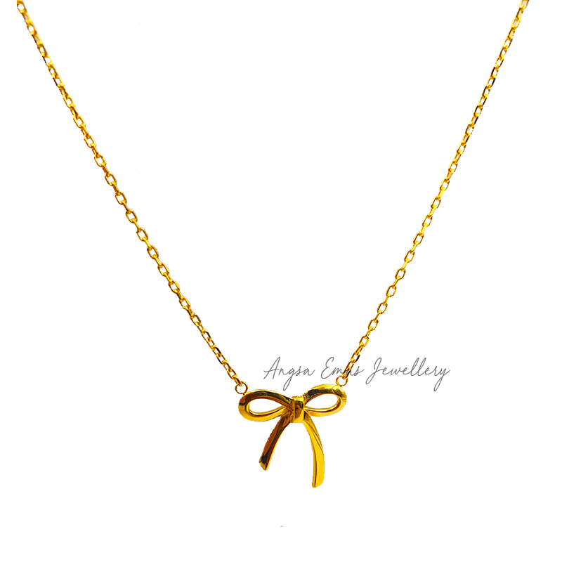 Sweet Ribbon Necklace